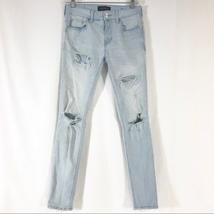 Pacsun Active Stretch Stacked Skinny Jeans 26x28